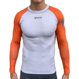 Vaikobi V Ocean Long Sleeve UV Top - Orange