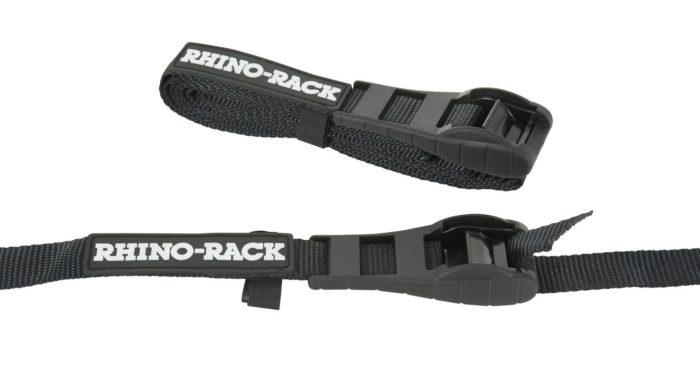Rhino Rack Rapid Tie Down Straps w/ Buckle Protector