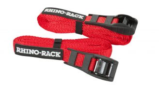 Rhino Rack Rapid Tie Down Straps W/ Buckle Protector