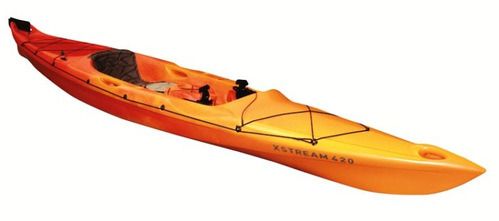 Mission Glide 420 with Rudder Sit on Top Kayak