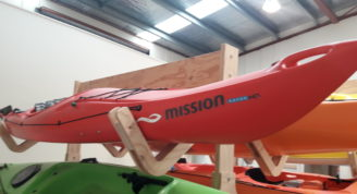 Mission Contour 375 W/ Rudder
