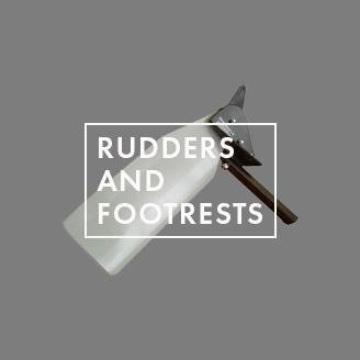 Rudders & Footrests