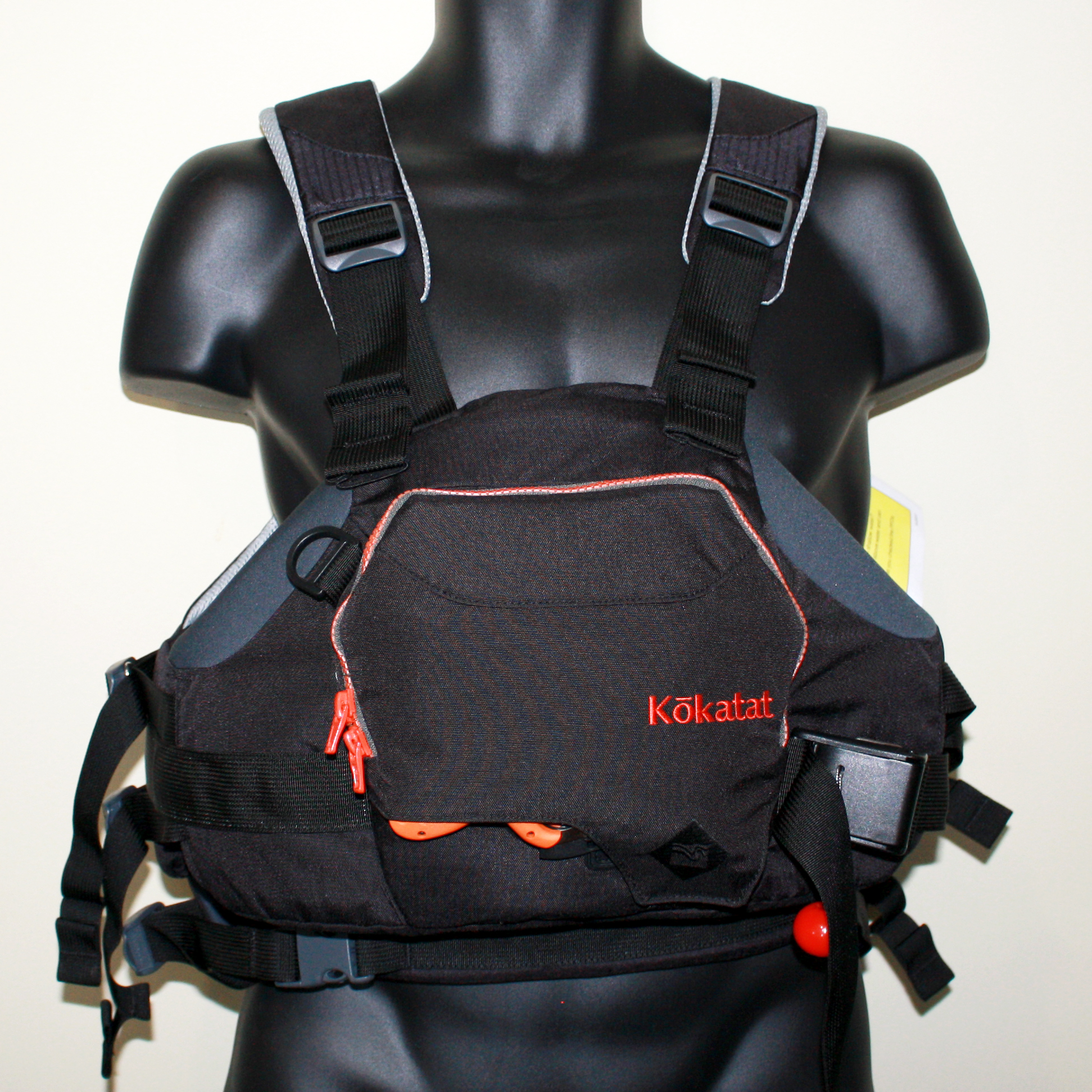 How much pocket space does a Kokatat HussleR PFD have?