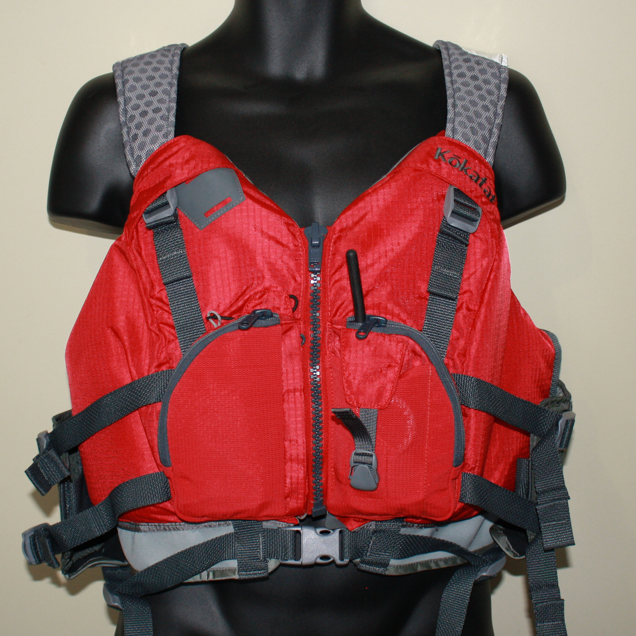 How much pocket space does a Kokatat Neptune PFD have?