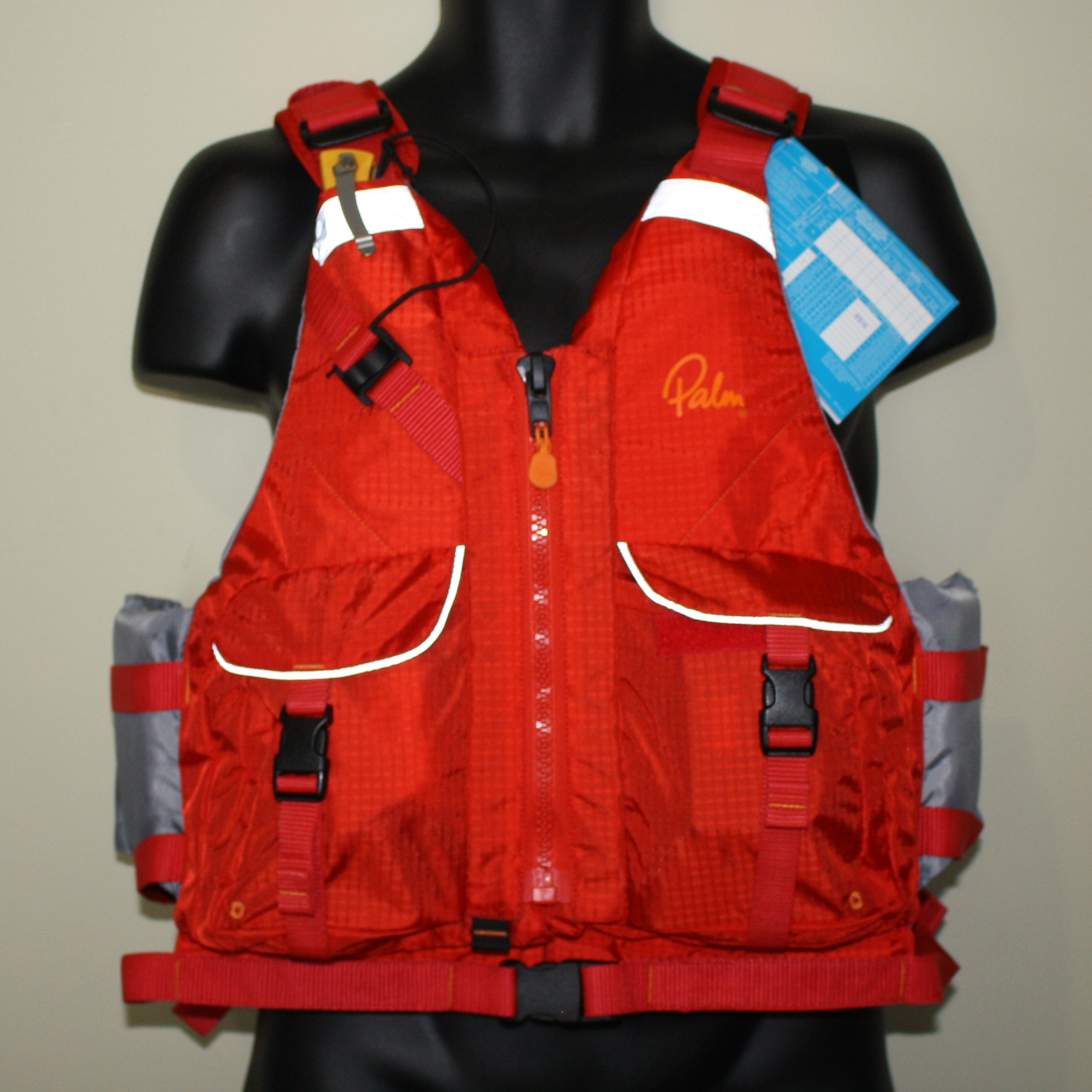 How much pocket space does a Palm Hydro PFD have?